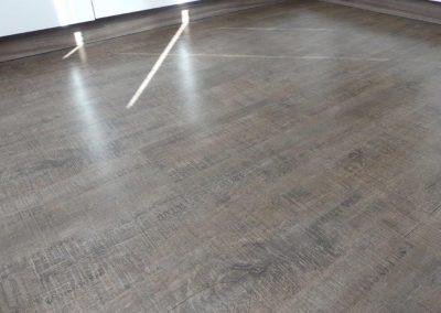 Küche mit vinylboden